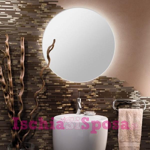 decorazione specchio in mosaico
